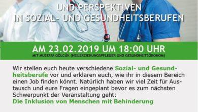Photo of Chancen und Perspektiven in Sozial- und Gesundheitsberufen.