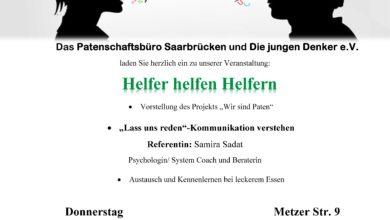"""Photo of Veranstaltung: """"Helfer helfen Helfern"""""""