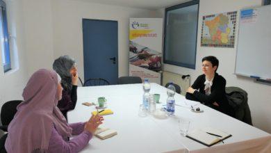 Photo of Besuch und Gespräche mit Fr. Babakaus vom Fitt-Institut für Technologietransfer der HTW  und Existenzgründungsmentorin von ,,MIGRIS –