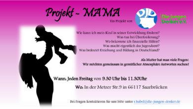 Photo of Freitags: Projekt-MAMA